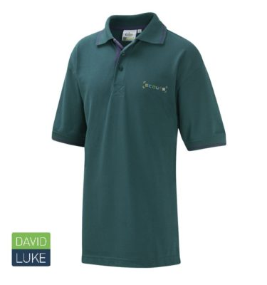 DL571 New Scout Tipped Poloshirt